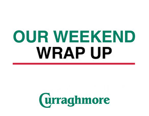 Weekend Wrap Up- 10.12.18