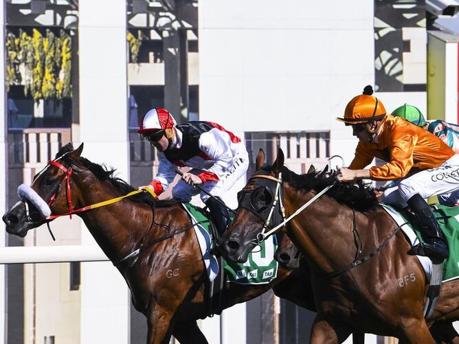 CURRAGHMORE   Almost Court snares Listed Canberra Cup